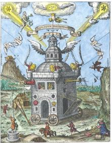 The Invisible College Of The Rosicrucians Theophilus Schweighardt Speculum 1618, Alchemical And Hermetic Emblems 1